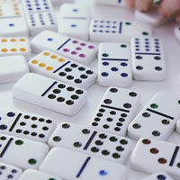 'Number Matching' Game: Dominoes