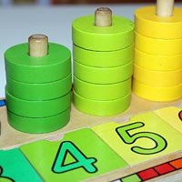 Learning mathematical terminogy through play